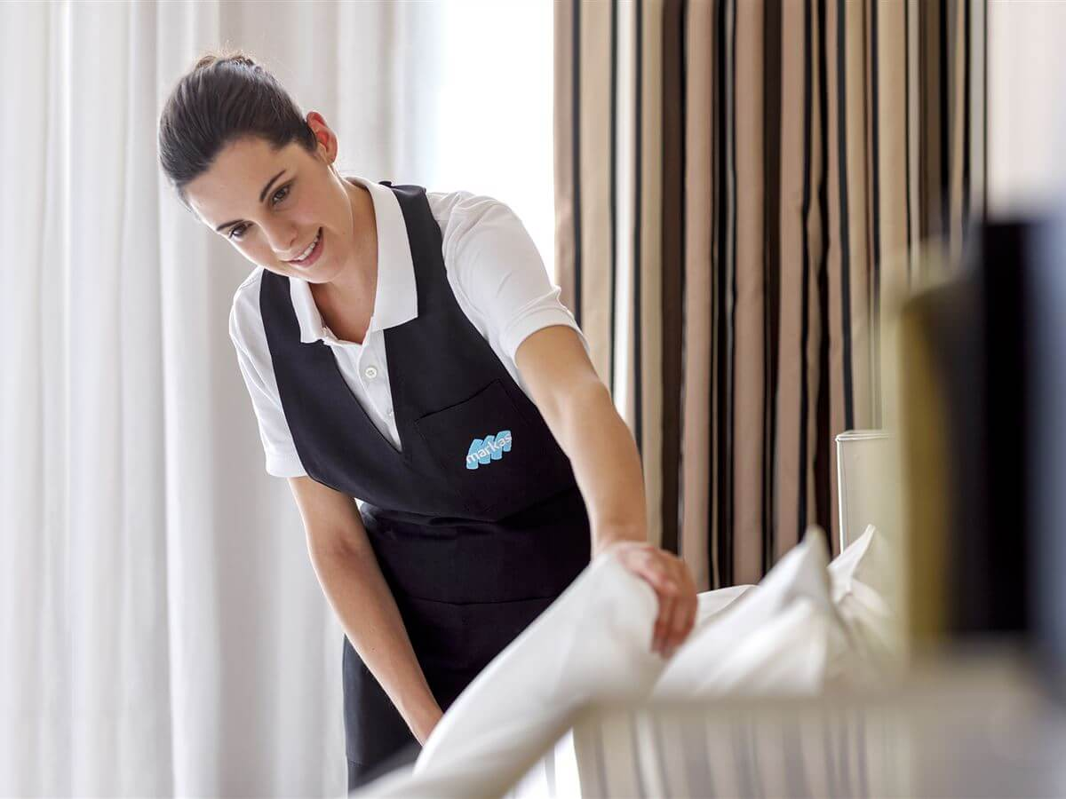 Markas offers hotels an innovative disinfection service, developed thanks to the company's thirty-year experience in the field of sanitary cleaning.